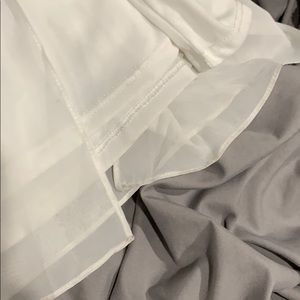 Lulu's Skirts - NWT Midnight Memories white maxi skirt - Small